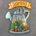 Spring welcome garden decoration
