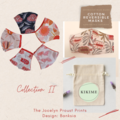 Reversible Face Mask: Jocelyn Proust Banksia with KIKIME case