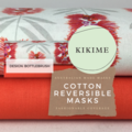 Reversible Face Mask: Jocelyn Proust Bottlebrush with KIKIME case