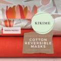 Reversible Face Mask: Jocelyn Proust Protea I with KIKIME case