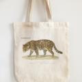 Vintage Design Eco Tote Bag Jaguar