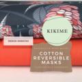 Reversible Face Mask: Jocelyn Proust Waratah with KIKIME case