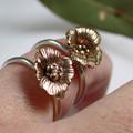 Poppy Finger Ring