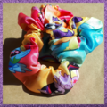 Scrunchies - Hand made in various colours