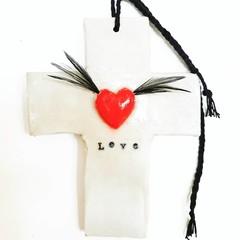 Wall Art - Love Cross