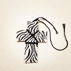 Wall Art - Wild Zebra Cross