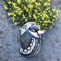 Bird  wall vase