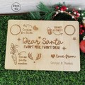 Santa Snack Place Mat - 2 designs