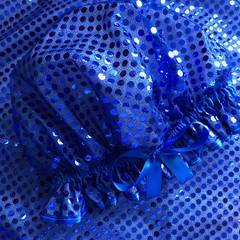 Showercap Royal Blue Sequin