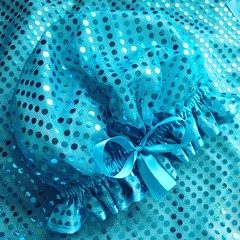 Showercap Aqua sequins