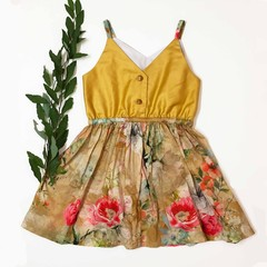 Sorrento voile dress for Size 4 girl