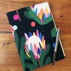 Note Pad Cover - Protea