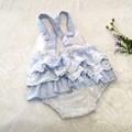 Vintage style Ruffle Romper for baby. Sizes 000, 00, and 1