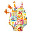 Vintage style Romper for baby. Sizes  00O