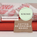 Reversible Face Mask: Jocelyn Proust Eucalyptus Blossom with KIKIME case