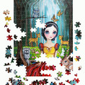 "500/1000 Piece Jigsaw Puzzle ""Snow White"" Brisbane Artist Jaz Higgins FREE POST"
