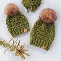 'TO THE MULBERRY BUSH' BEANIE SET - Mummy & Me (Adult & child fits 2-4 years)