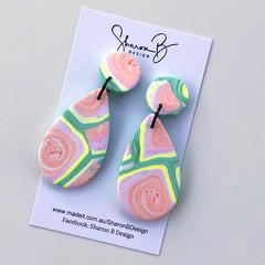 Handmade Polymer Clay Earrings