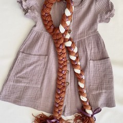 Anna Inspired Yarn Wig- Piggytails