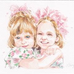 Custom Portrait | wall art, home decor, family portrait