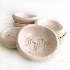 Handmade Ceramic Salt Dish