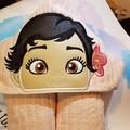 Baby Princess Hooded Towel