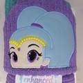 Blue Genie Hooded Towel