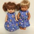 Miniland and Minikane Dolls   Dress to fit 38cm  and 33cm Dolls