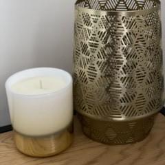 Large White  Vogue Candle Coconut & Mango