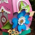 HONEY BEE FAIRY HOUSE LUMINARY AND GIFT BOX