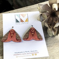 Magical Moth Collection - Red Moth Short Hook