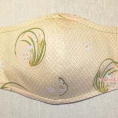 ONE AND ONLY 3 Layer Reusable Cotton Facemask w/ Filter pocket & Nose wire