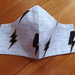 Lighting Bolt Face Mask