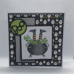 Halloween Card - Witches Brew