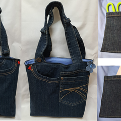 Bespoke Up-Cycled Denim Bags