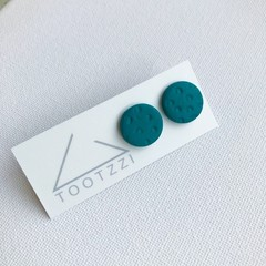 """Forest"" Lobe Lollies - Textured Mini Studs"