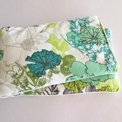 Relaxation Heat Pillow - Cotton Floral/Lavender/Essential Oils