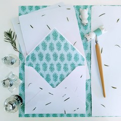 Rosemary Handmade Stationery Set
