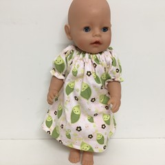 Dolls  nightie  to fit Cabbage Patch and Baby Born dolls