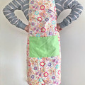 Floral Adult adjustable apron