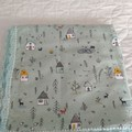 Handmade Baby Blanket Flannelette