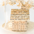 Tiny house and tree - Book art - Book sculpture - Altered books