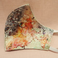 Gorgeous unique 100% Silk watercolour floral print fully reversible. Reusable, H