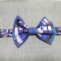 TARDIS bow tie. Teen/adult size. Velcro closure.