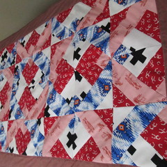 Strawberry Themed Quilted Table Runner
