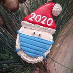 2020 Santa Christmas decoration