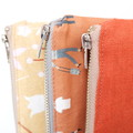 Essential Oil Pouch (2.0) - 'Away We Go'/Calico