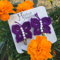 Butterfly Hair Clip Two Pack