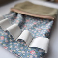 Essential Oil Pouch (2.0) - Rustic Floral/Calico