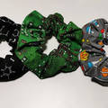 Science scrunchies. Pack of 3.